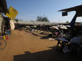 The Gulu Market, 2014