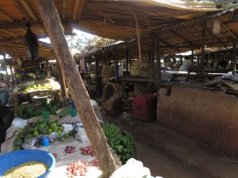Produce in the Gulu Market, 2014
